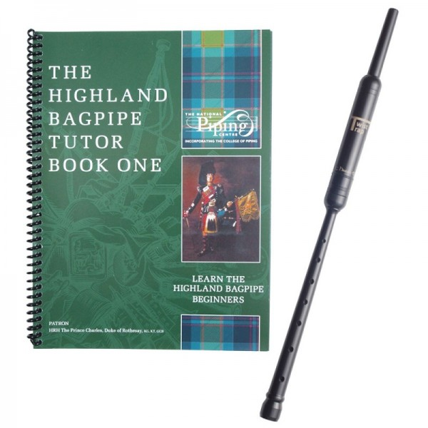 Highland Bagpipe Tutor Book 1 with Practice Chanter