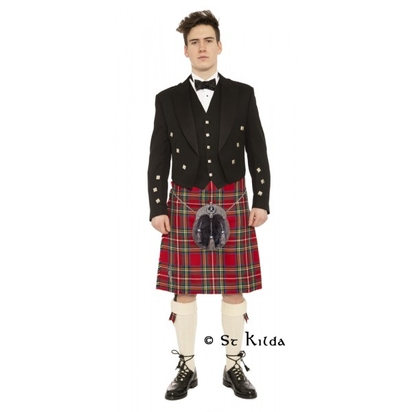 Premium Prince Charlie Clan Crest Outfit Package