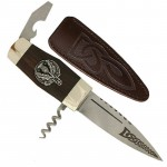 Clan Crest The Officer Sgian Dubh
