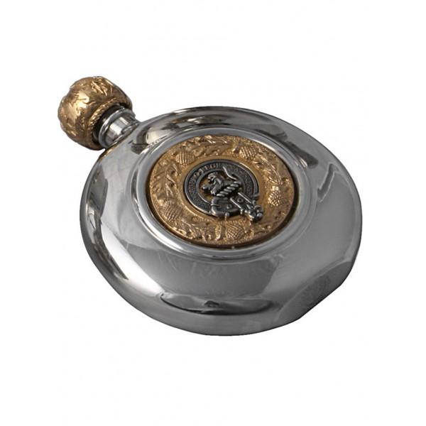 Scottish Clan Crest Sporran Flask