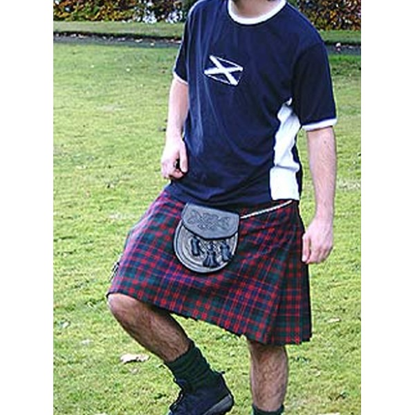 5 yard casual kilt, Machine Sitched