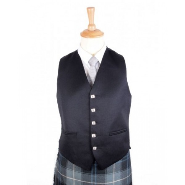 five button vest
